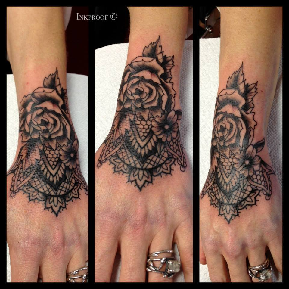 lace hand tattoos bing images. Black Bedroom Furniture Sets. Home Design Ideas